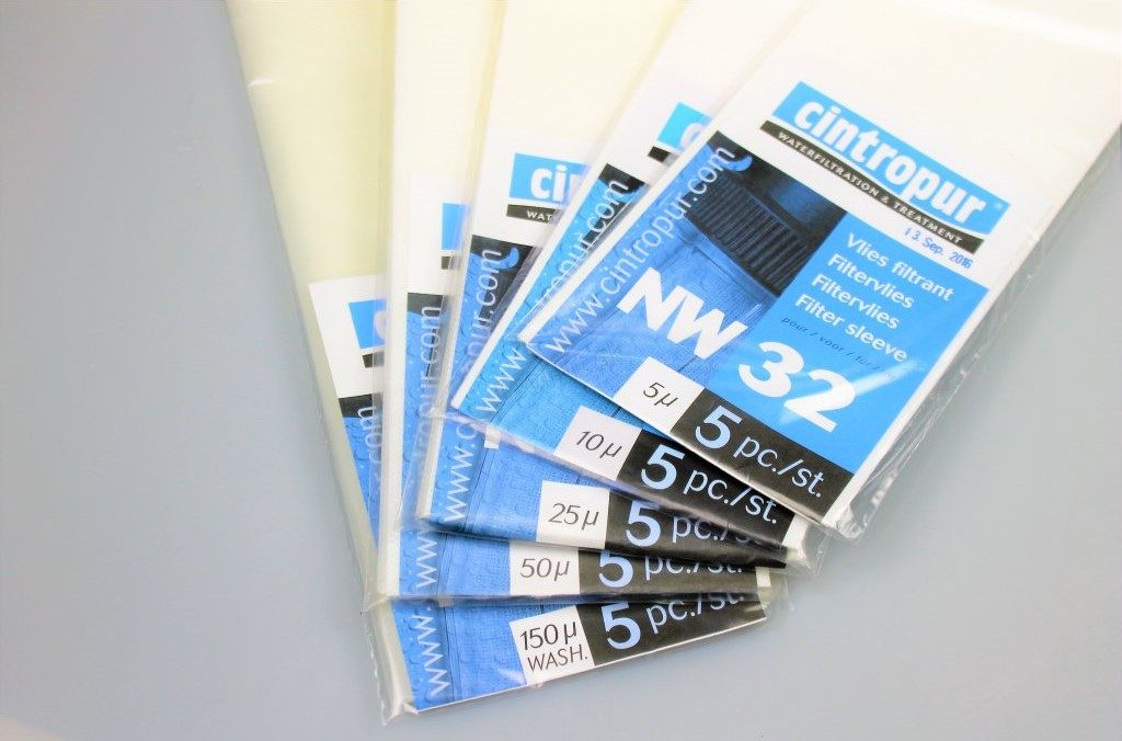 Replacement and spare Cintropur filter sleeves